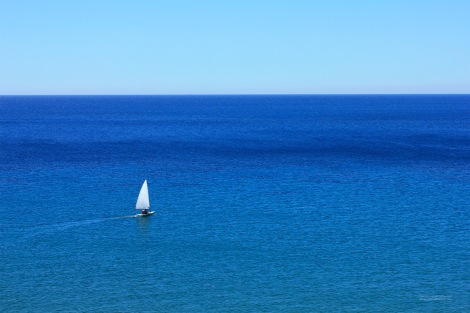 Sailing in blue Sea, by LemnosExplorer